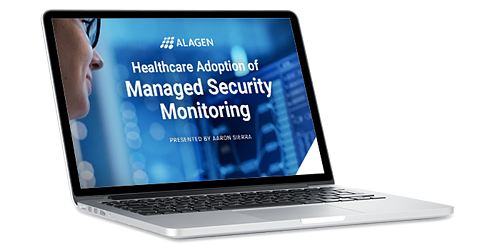 Healthcare Security Monitoring Laptop